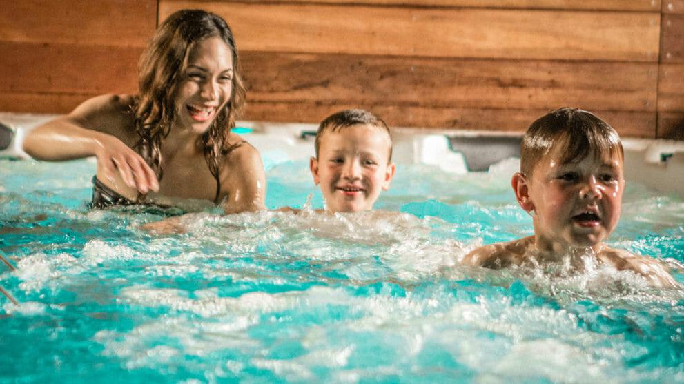 Vortex Swim Spas Schwimmen
